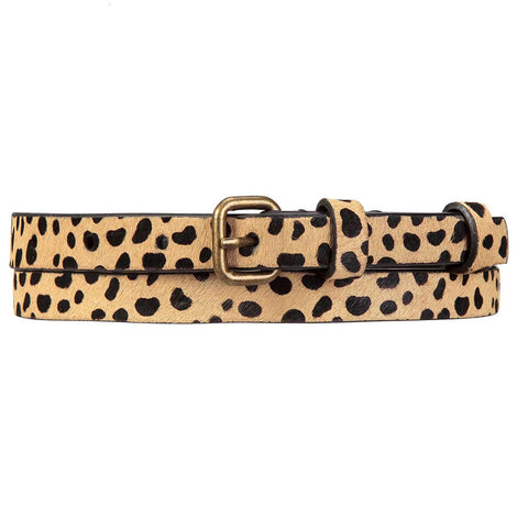 Shop Status Anxiety Never Never Women's Belt - Cheetah | Benny's Boardroom