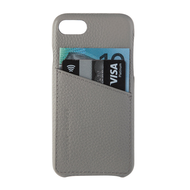 Buy Status Anxiety Hunter & Fox iPhone X/XS Case - Light Grey | Benny's Boardroom