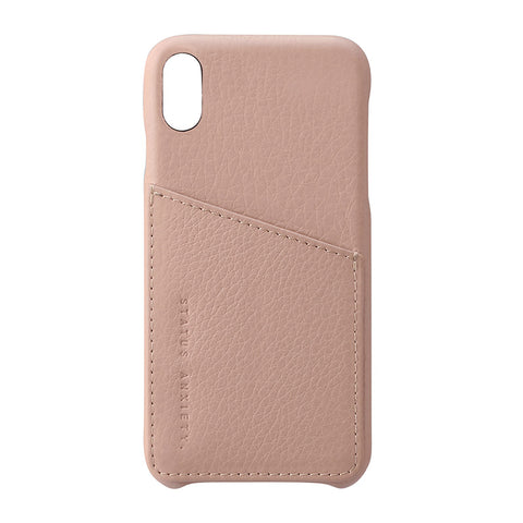 Shop Status Anxiety Hunter & Fox iPhone X/XS Case - Dusty Pink | Benny's Boardroom