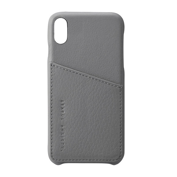 Shop Status Anxiety Hunter & Fox iPhone X/XS Case - Light Grey | Benny's Boardroom