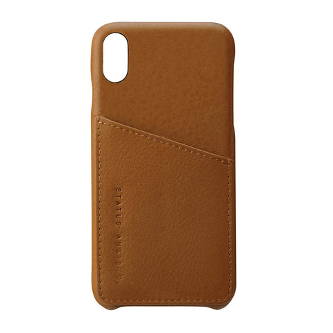 Shop Status Anxiety Hunter & Fox iPhone X/XS Case - Tan | Benny's Boardroom