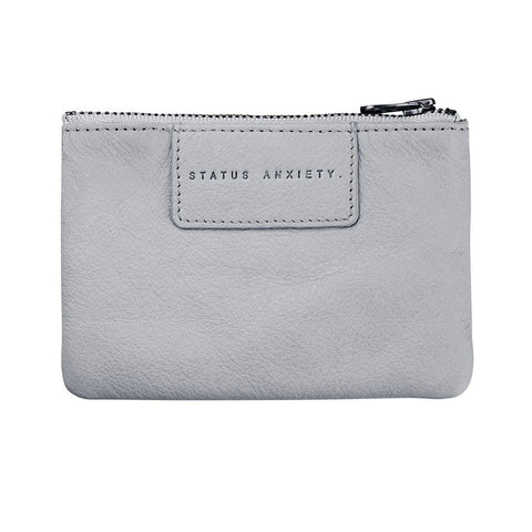 Shop Status Anxiety Anarchy Women's Wallet - Arctic Grey | Benny's Boardroom