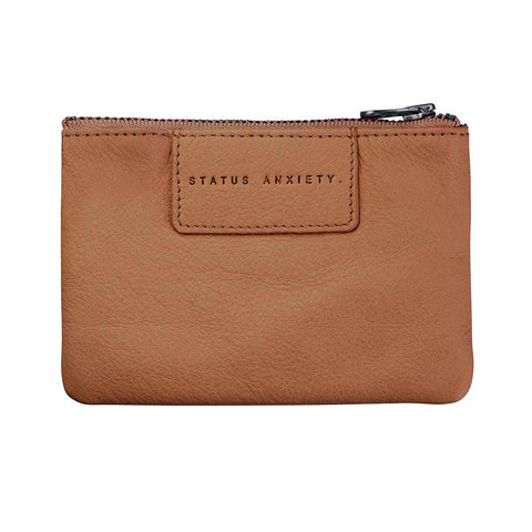 Shop Status Anxiety Anarchy Women's Wallet - Tan | Benny's Boardroom