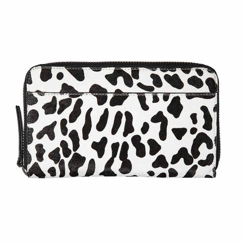 Shop Status Anxiety Delilah Women's Wallet - Snow Leopard | Benny's Boardroom