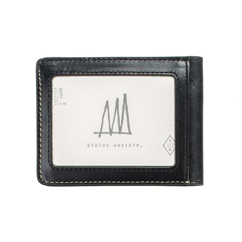 Buy Online Status Anxiety Ethan Men's Wallet - Black | Benny's Boardroom
