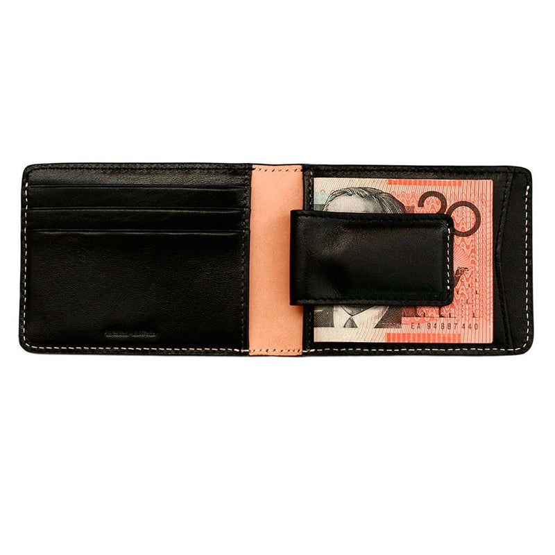 Shop Cheap Online Status Anxiety Ethan Men's Wallet - Black | Benny's Boardroom