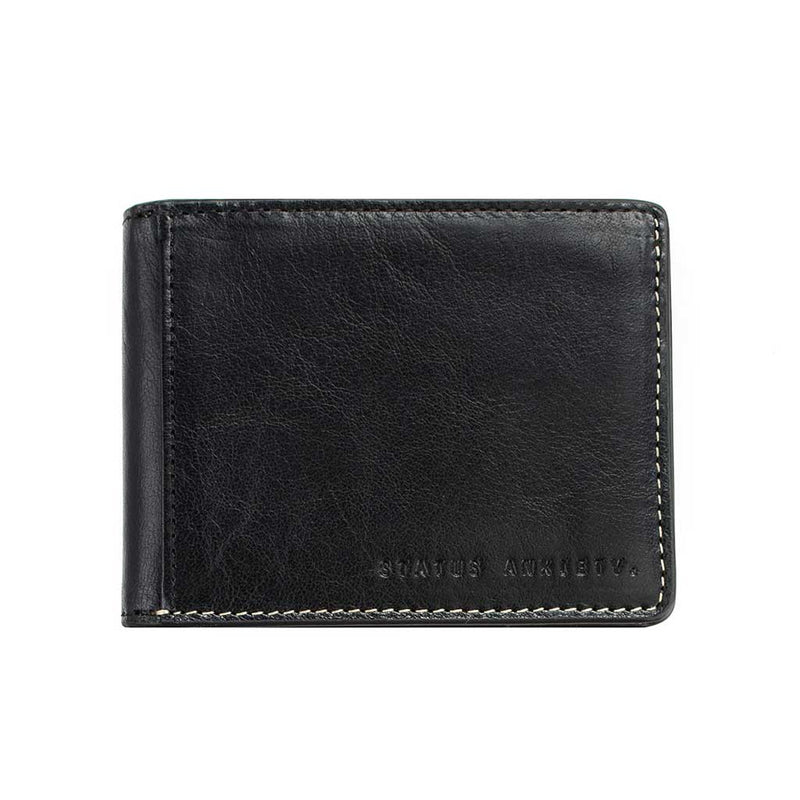 Shop Status Anxiety Ethan Men's Wallet - Black | Benny's Boardroom
