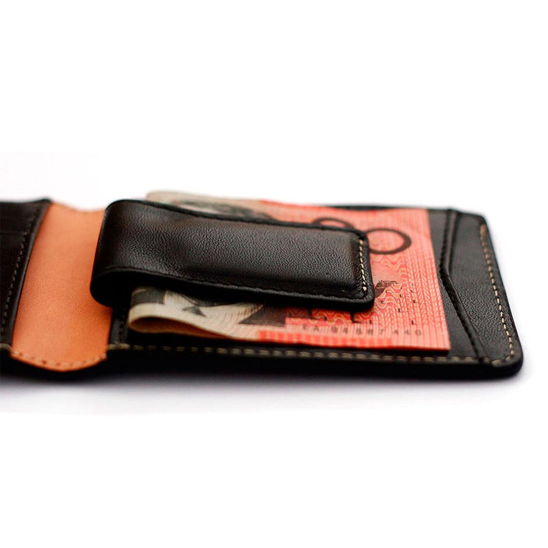 Shop Online Status Anxiety Ethan Men's Wallet - Black | Benny's Boardroom