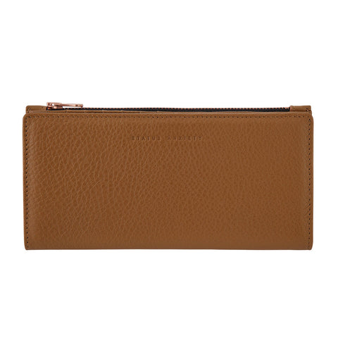 Shop Status Anxiety In the Beginning Wallet - Tan | Benny's Boardroom