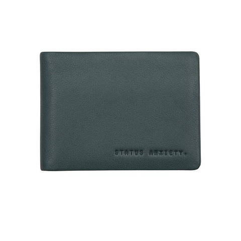 Shop Status Anxiety Jonah Wallet - Teal | Benny's Boardroom