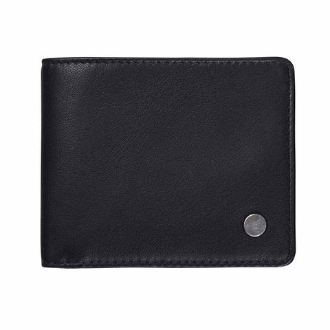 Shop Status Anxiety Leonard Men's Wallet - Black | Benny's Boardroom