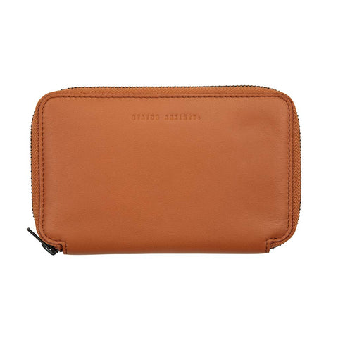 Shop Status Anxiety Vow Travel Wallet - Camel | Benny's Boardroom