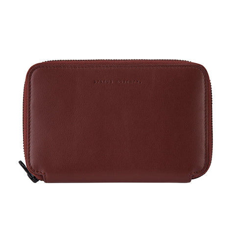 Shop Status Anxiety Vow Leather Travel Wallet - Cognac Online | Benny's Boardroom