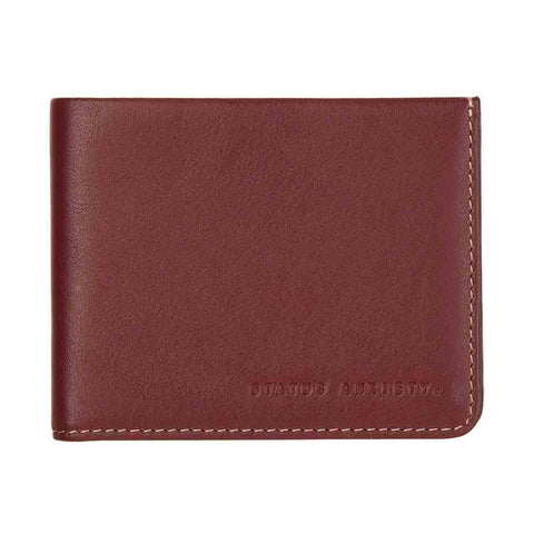 Shop Status Anxiety Alfred Wallet - Cognac | Benny's Boardroom