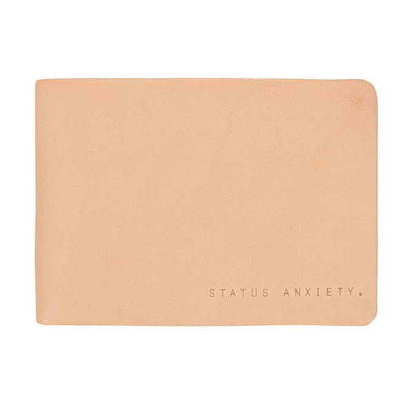 Shop Status Anxiety Jonah Wallet - Tan | Benny's Boardroom