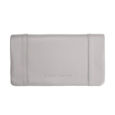 Shop Status Anxiety Some Type of Love Wallet - Cement | Benny's Boardroom