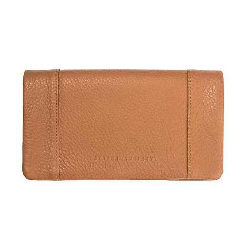 Shop Status Anxiety Some Type of Love Wallet - Tan | Benny's Boardroom