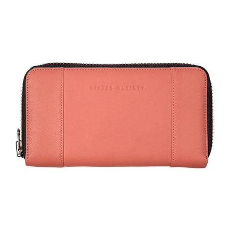 Shop Status Anxiety State of Flux Women's Wallet - Coral | Benny's Boardroom