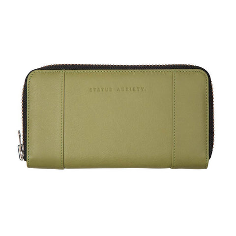 Shop Status Anxiety State of Flux Women's Wallet - Olive | Benny's Boardroom