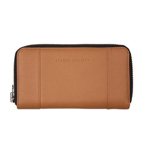Shop Status Anxiety State of Flux Women's Wallet - Tan | Benny's Boardroom