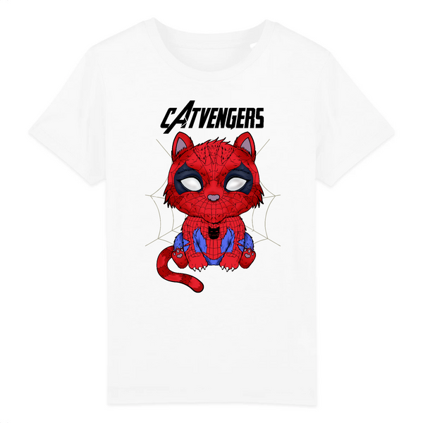 T-shirt Enfant Catvengers SpiderCat - Billie Gio