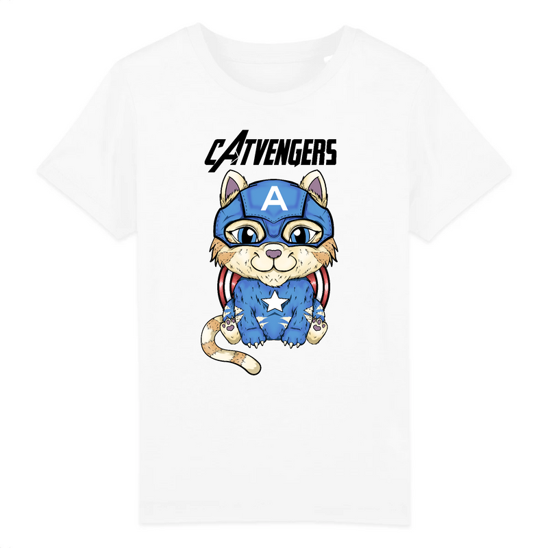 T-shirt Enfant Catvengers CaptainCat - Billie Gio