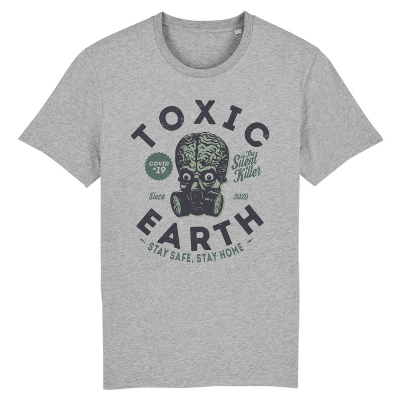 T-Shirt Homme Toxic Earth - Billie Gio