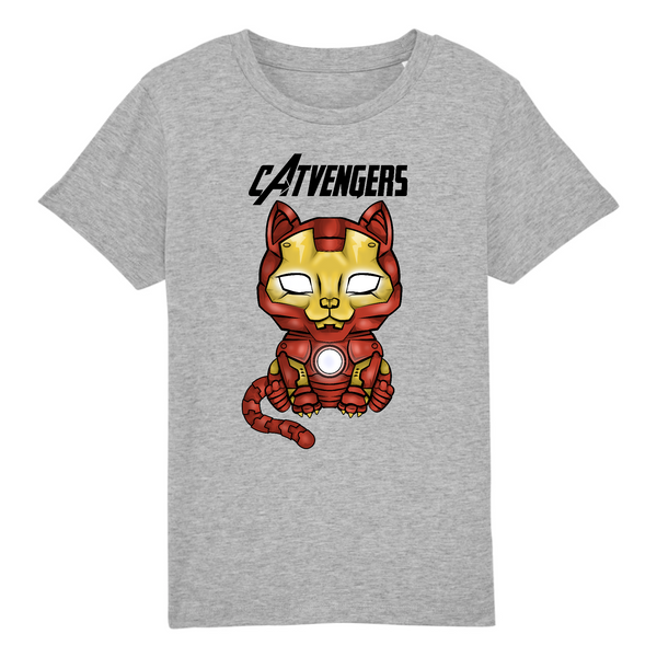 T-shirt Enfant Catvengers IronCat - Billie Gio
