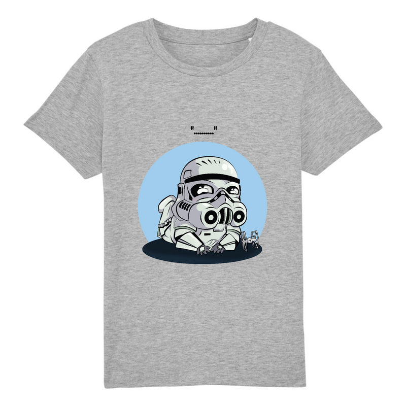 T-SHIRT ENFANT TROOPER - Billie Gio