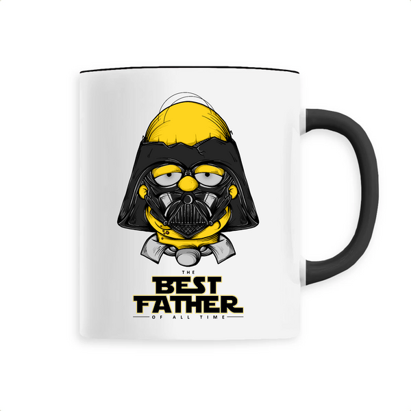 Mug Best Father Dark Homer Simpson - Billie Gio