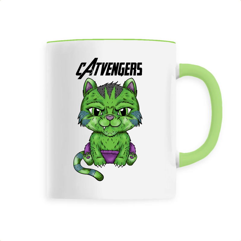 Mug Catvengers CatHulk - Billie Gio