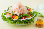 Bonito Salad with Honey Mustard Dressing
