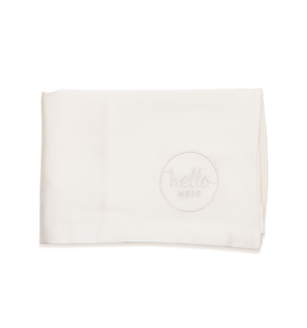 Hello Hair Pure Silk Pillowcase Ivory White