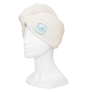 Hello Hair Towel Wrap