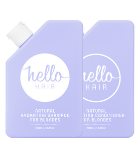 Hello Hair Hydrating Shampoo + Conditioner Duo for Blondes | BEST SELLER