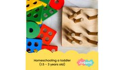 Homeschooling a toddler (18 months - 2 .5 years)