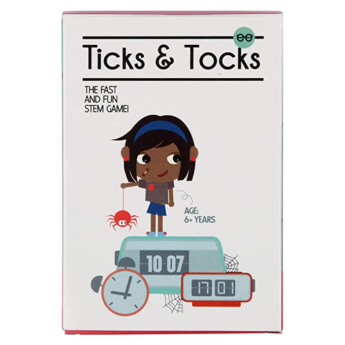 Ticks & Tocks | Reading Analog and Digital Time - Pack of 12