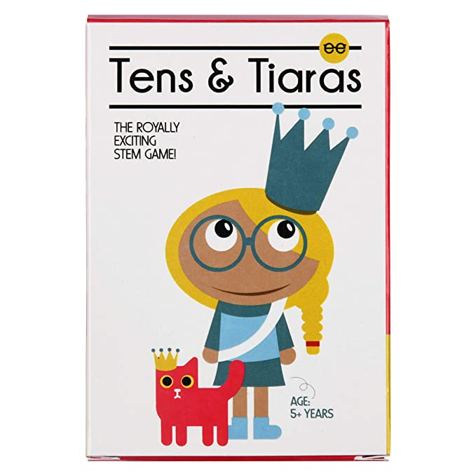 Tens & Tiaras | Number Value Math Game with Jewels! - Pack of 12