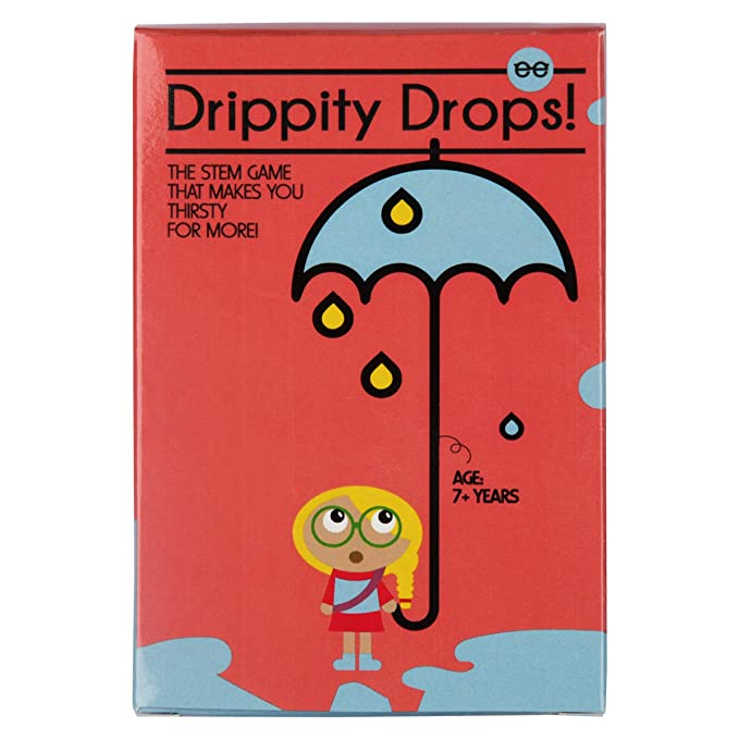 (Pack of 12) Drippity Drops | The World's First Water Cycle Game