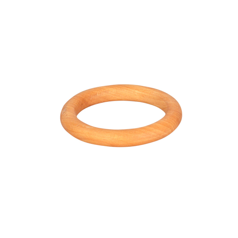Thasvi Wooden Ring  (0 months +) - Touch. Feel. Explore.