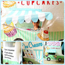 Role Play Deluxe Ice Cream & Cupcake Truck Playhouse Tent