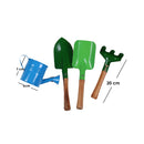 Toyroom Little Greenkeepers' Wooden handle metal Gardening Tools