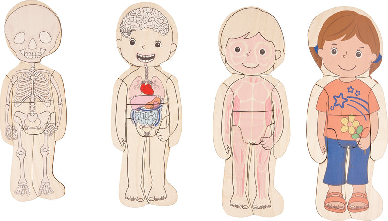 Know your Body Puzzle - Boy & Girl