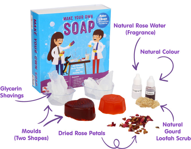 Soap Making DIY Activity Kit