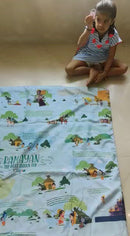 Ramayana Mat - with felt character pieces