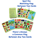 CocoMoco Kids Geography Card Games Combo Pack for 5-12 year olds