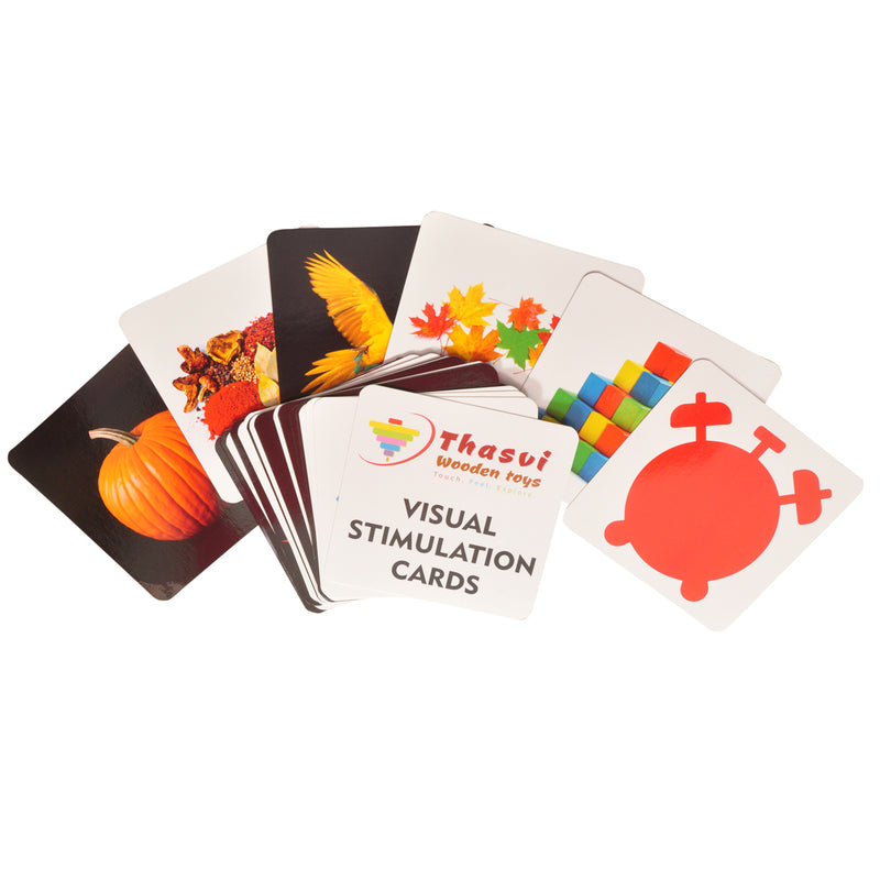 Thasvi Visual Stimulation Cards - Combo
