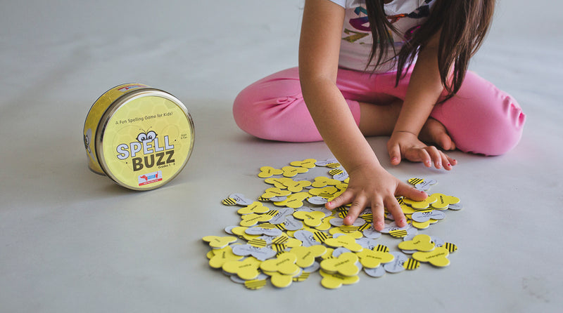 Spell Buzz Spelling Game (92 Words Game)
