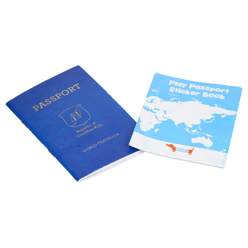 Play Passport with Stickers Activity Kit