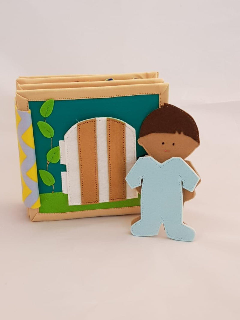 My Daily Activity - Doll House Mini Quiet Book (For Boys)